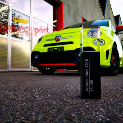 Fiat Abarth PWF Atomic lime 5