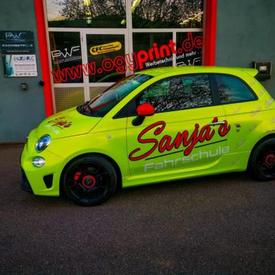 Fiat Abarth PWF Atomic lime 4