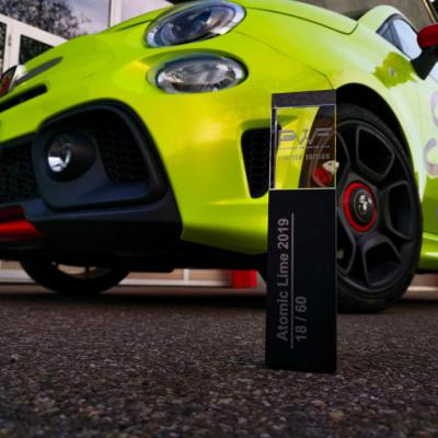 Fiat Abarth PWF Atomic lime 1