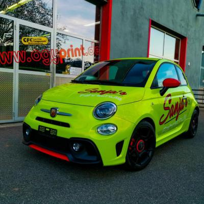 Fiat Abarth PWF Atomic lime 2
