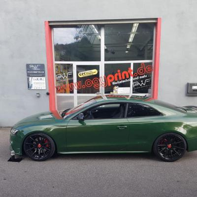 Audi PWF malachite green 2