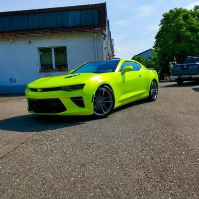 Camaro PWF Atomic lime 4