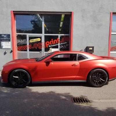 Camaro Anodized Red